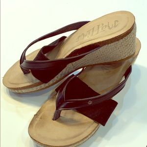 MAD LOVE Wedge Sandals